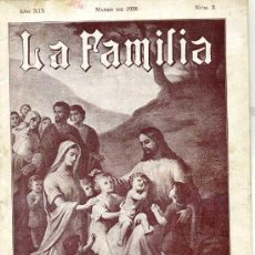 Coleccionismo de Revistas y Periódicos: REVISTA LA FAMILIA MARZO 1926. Lote 26126411