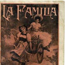 Coleccionismo de Revistas y Periódicos: REVISTA LA FAMILIA JUNIO 1921. Lote 26126441