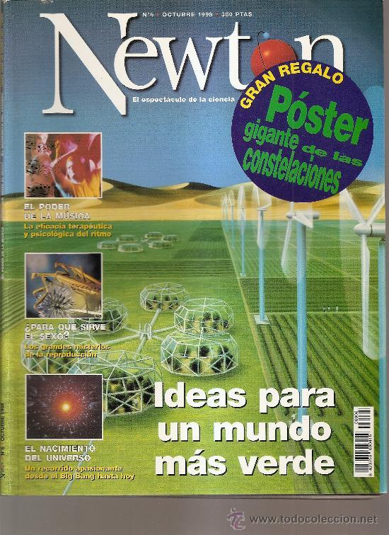 NEWTON, N5 OCTUBRE 1998 (Coleccionismo - Revistas y Periódicos Modernos (a partir de 1.940) - Otros)