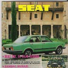 Coleccionismo de Revistas y Periódicos: SEAT N.148. Lote 26204093