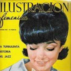 Coleccionismo de Revistas y Periódicos: ILUSTRACION FEMENINA .NUMERO EXTRA OCTUBRE 1961. Lote 26230620
