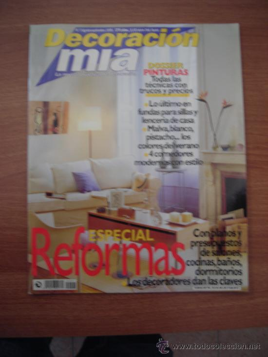 Revista decoracion mia n 7 agosto septiemb comprar for Mia decoracion