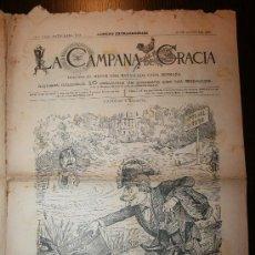 Coleccionismo de Revistas y Periódicos: LA CAMPANA DE GRACIA - ANY XXII BATALLADA 1161 - 22-08-1891 - NÚMERO EXTRAORDINARIO. Lote 26285073