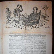 Coleccionismo de Revistas y Periódicos: LO RECTOR DE VALLFOGONA - ANY I - 26-07-1874 Nº 2. Lote 26309759