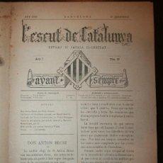 Coleccionismo de Revistas y Periódicos: L'ESCUT DE CATALUNYA - ANY I - Nº 39 - 27-12-1879. Lote 26310169