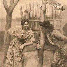 Coleccionismo de Revistas y Periódicos: RECORTE PRENSA.AÑO 1909.VALENCIA.TRAJES REGIONALES.PERSONAJES TIPICOS.FOTOGRAFIA GOMEZ DURAN.. Lote 26341882
