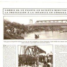 Coleccionismo de Revistas y Periódicos: HOJA REPORTAJE.AÑO 1909.EL CENTRO ASTURIANO DE LA HABANA.ESPAÑOLES EN CUBA.ASTURIAS.ALCIRA.. Lote 26488246