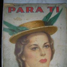 Coleccionismo de Revistas y Periódicos: ANTIGUA REVISTA PARA TI (EM3). Lote 26532729