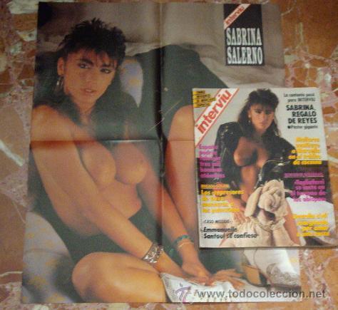 Revista Interviu 1988 Sabrina Salernoposter Verkauft Durch