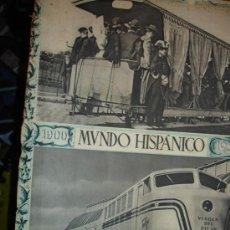 Coleccionismo de Revistas y Periódicos: REVISTA MUNDO HISPANICO. Lote 26808313