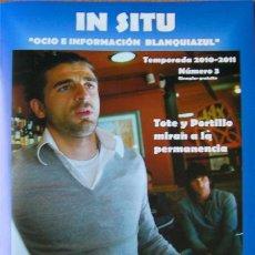 Coleccionismo de Revistas y Periódicos: ALICANTE, REVISTA FUTBOL HÉRCULES IN SITU, Nº 3 AÑO 2010. Lote 26856358