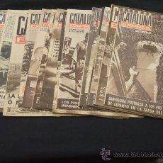 Coleccionismo de Revistas y Periódicos: LOTE 16 REVISTAS - CATALUÑA EXPRES - 1961-1962. Lote 26884522