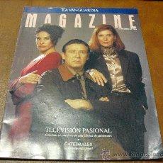 Coleccionismo de Revistas y Periódicos: REV. MAGAZINE 1/1996 .- TELEVISION PASIONAL-REPTJE.CATEDRALES,JOSE Mª SETIEN.TONY WARD. Lote 26932286