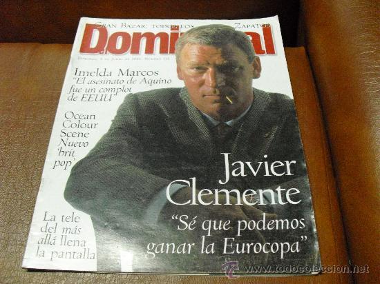 REV DOMINICAL 6/1996 - JAVIER CLEMENTE-RPTJEGUILLIAM ANDERSON,EUROCOPA,BOXEO, LISBOA (Coleccionismo - Revistas y Periódicos Modernos (a partir de 1.940) - Otros)