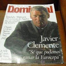 Coleccionismo de Revistas y Periódicos: REV DOMINICAL 6/1996 - JAVIER CLEMENTE-RPTJEGUILLIAM ANDERSON,EUROCOPA,BOXEO, LISBOA. Lote 26985913