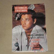 Collectionnisme de Revues et Journaux: REVISTA DEL HOGAR LA FAMILIA CRISTIANA , DEL 1 DE JUNIO DE 1967 . . Lote 27008054
