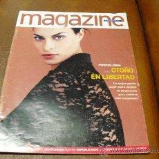 Coleccionismo de Revistas y Periódicos: REV MAGAZINE 9/1996 MAGALI AMADEI-AMPLIO RPTJE MODA OTOÑO-BARCELONA,NICOLAU CASAUS, MAMA GORILA. Lote 31371988
