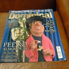 Coleccionismo de Revistas y Periódicos: REV DOMINICAL 3/2000 RPTJE . PEDRO ALMODOVAR,WARREN BEATTY, HOLLYWOOD 25 NOMINADOS.-. Lote 27049435