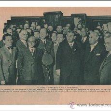 Coleccionismo de Revistas y Periódicos: EL PINTOR FERNANDO ÁLVAREZ DE SOTOMAYOR EN BUENOS AIRES. 1932. HOJA DE REVISTA.. Lote 27050589
