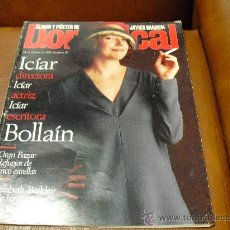 Coleccionismo de Revistas y Periódicos: REV. DOMINICAL 1/1996 ICÍAR DIRECTORA,ATRIZ..., RPTJE.JAVIER BARDEM.ELISABETH BERKLEY,MUSICA.. Lote 27097906