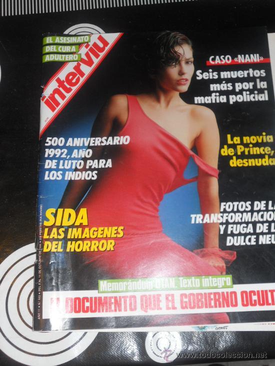 Revista Interviu Nº 543 Año 1986 La Novia De P Vendido En Venta