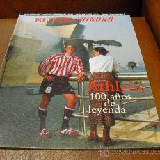 Coleccionismo de Revistas y Periódicos: REV. DOMINICAL 4/1998 AMPLIO RPTJE.ATHLETIC, JACK NICHOLSON, AMBAR,JUAN RAMON JIMENEZ.-. Lote 27308750