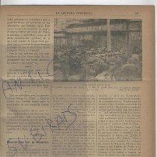 Coleccionismo de Revistas y Periódicos: REVISTA.AÑO 1919.DISTURBIOS EN MADRID. IGLESIA DE MADRID.SAN JERONIMO EL REAL. . Lote 27320485