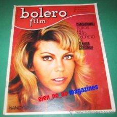Coleccionismo de Revistas y Periódicos: BOLERO FILM Nº16/1967 NANCY SINATRA~ADAMO~NEW VAUDEVILLE BAND~AMPARO SOLER LEAL~FOTONOVELA . Lote 27493162