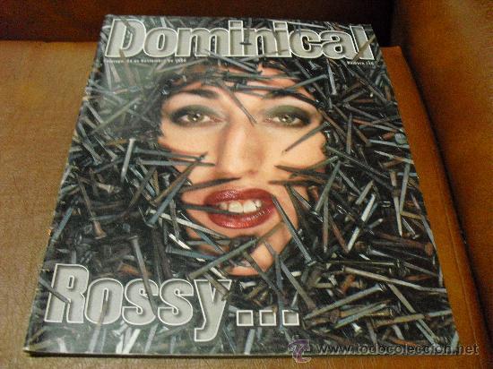 REV. DOMINICAL 11 /1996 - ROSSY DE PALMA-AMPLIO RPTJE. ROBERT MITCHUM.NATALIE PORTMAN (Coleccionismo - Revistas y Periódicos Modernos (a partir de 1.940) - Otros)