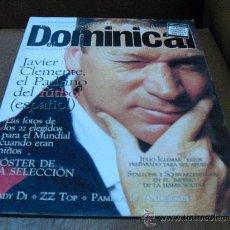 Coleccionismo de Revistas y Periódicos: REV. DOMINICAL 6/1994.- JAVIER CLEMENTE.POSTER DE LA SELECCION, LADY DI,TRES TENORES Y UN DIRECTOR,. Lote 27517211