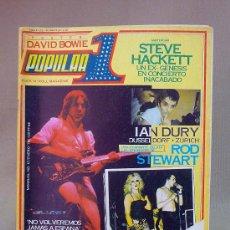 Coleccionismo de Revistas y Periódicos: REVISTA, POPULAR 1, Nº 67, 1979, AC DC, ROD STEWART, STEVE HACKETT, BLONDIE. Lote 27628039