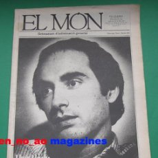 Coleccionismo de Revistas y Periódicos: EL MON, SETMANARI D´INFORMACIÓ GENERAL Nº 110, 30/III/1984 LLUIS LLACH~EVA COBO. Lote 27738167