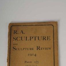 Coleccionismo de Revistas y Periódicos: CATÁLOGO - REVISTA R.A. SCULPTURE AND SCULPTURE REVIEW, AÑO 1914, PUBLICADO POR ALEX. KOCH & SONS. Lote 27815886