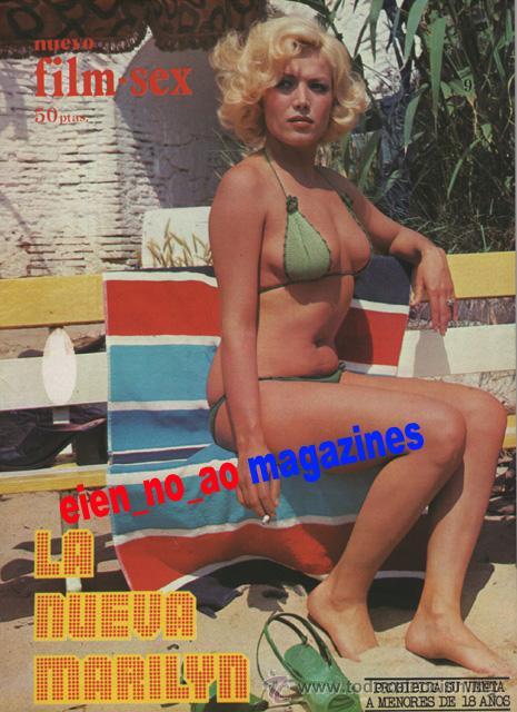 NUEVO FILM SEX Nº 9 AGATA LYS~LA NUEVA MARILYN~VERONICA MIRIEL~CELIA TORRES~SILVIA SOLAR (Coleccionismo - Revistas y Periódicos Modernos (a partir de 1.940) - Otros)