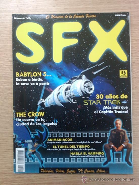 SFX (CINE DE CIENCIA FICCION) #2 (Coleccionismo - Revistas y Periódicos Modernos (a partir de 1.940) - Otros)