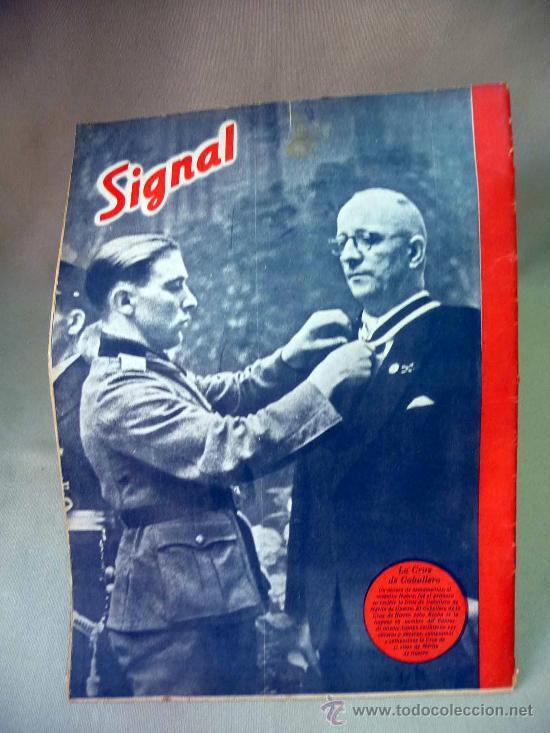 Coleccionismo de Revistas y Periódicos: REVISTA, SIGNAL, 1º NUMERO DE JULIO 1942, Nº 13 - Foto 2 - 27863459