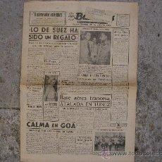 Coleccionismo de Revistas y Periódicos: DIARIO BALEARES,JULIO 1954.6 PAGINAS MAS SUPLEMENTO DEPORTES D 4 PAGINAS.TOUR DE FRANCIA,BAHAMONTES.. Lote 27904002
