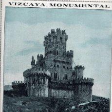 Coleccionismo de Revistas y Periódicos: BILBAO 1916 CASTILLO DE BUTRON HOJA REVISTA. Lote 27958873
