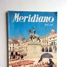 Coleccionismo de Revistas y Periódicos: MERIDIANO, MAYO 1954, Nº137. Lote 27963407