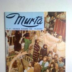 Coleccionismo de Revistas y Periódicos: MURTA, Nº27, SEPTIEMBRE 1980, EN VALENCIANO. Lote 27974385