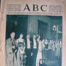 Coleccionismo de Revistas y Periódicos: PERIODICO ABC 27 JUNIO 1928 EN PORTADA MADRID EN EL MINISTERIO DE ESTADO. Lote 27986904