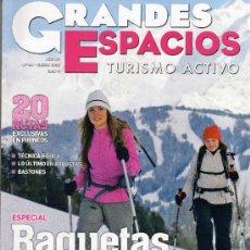 Coleccionismo de Revistas y Periódicos: REVISTA , GRANDES ESPACIOS, TURISMO. Lote 28000669