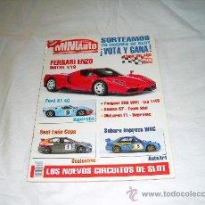Collezionismo di Riviste e Giornali: MINIAUTO Nº 74: FERRARI ENZO FORD GT 40. SEAT LEON COPA. SUBARU IMPREZA WRC. PEUGEOT 206 WRC. Lote 28012255