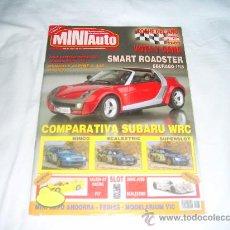 Collezionismo di Riviste e Giornali: MINIAUTO Nº 86: SMART ROADSTER. RENAULT ALPINE A 442. COMPARATIVA SUBARU WRC. NINCO VS SUPERSLOT. Lote 28032697
