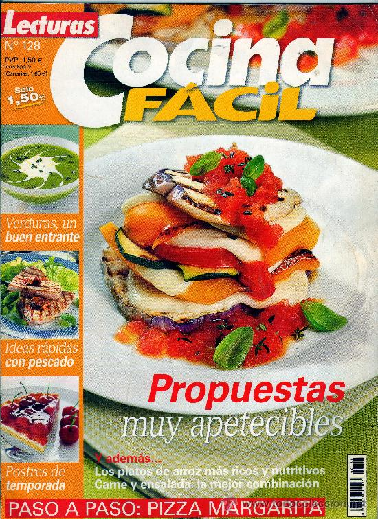 revista cocina f cil n 128 68 p ginas comprar otras
