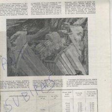 Coleccionismo de Revistas y Periódicos: REVISTA.BAGES.66. ANY 1958.CENTRALES HIDROELECTRICAS. NOGUERA RIBAGORZANA. ENHER.SEAT. . Lote 28066356