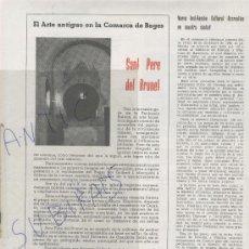 Coleccionismo de Revistas y Periódicos: REVISTA.BAGES.ANY 1958.69.SANT PERE DE BRUNET.SANT SALVADOR DE GUARDIOLA.MANRESA. Lote 28066491