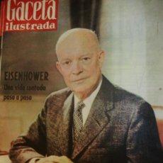 Coleccionismo de Revistas y Periódicos: GACETA Nº 167 1959 EISENHOWER. Lote 28087335