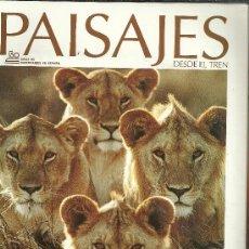 Coleccionismo de Revistas y Periódicos: PAISAJES DESDE EL TREN. Lote 28097124
