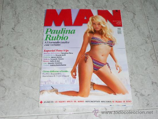 revista man nº 261. paulina rubio. florentino p - Buy Other Modern ...